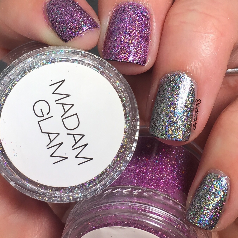 Silver and Holo Sunset Loose Powders